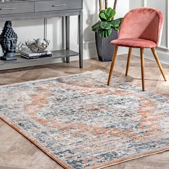 "Beige Princesa Shaded Snowflakes rug - Transitional Rectangle 12' x 14' 5"" Product Image"