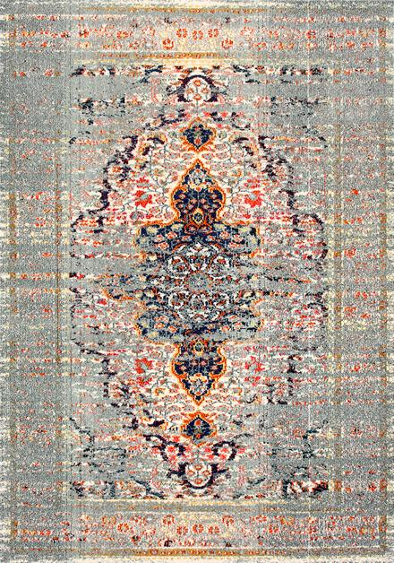 Chroma Faded Gothic Medallion Rug Rugs Usa