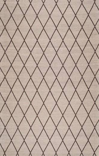 diamond trellis rug