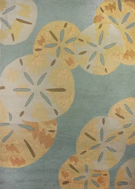 Homefires Rugs Sand Dollars By The Sea Outdoor