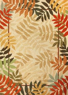 Homefires Rugs Painted Rain Forest Outdoor