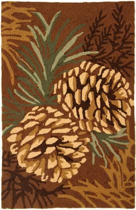 Homefires Rugs Pine Cone