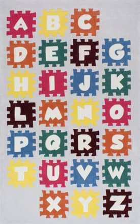 Rugs USA Puzzle Alphabet