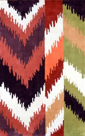 Rugs USA ACR211 Color Block Ikat