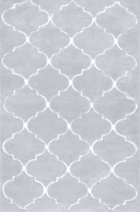 Rugs USA SHAG R235 Carved Trellis