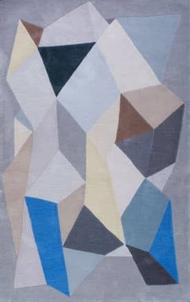 Rugs USA Shaped CRGR17 Modern Polygons