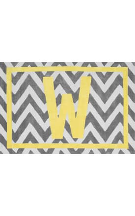 Rugs USA RL05 Chevron Letter