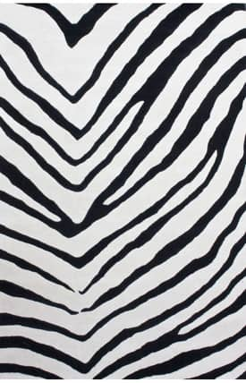 Rugs USA V Stripe Zebra