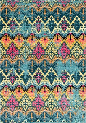 Rugs USA SH01 Amitola Distressed Arrowhead Damask