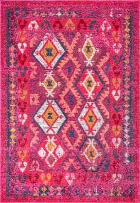 Rugs USA SH03 Sevana Tribal Accented Diamonds