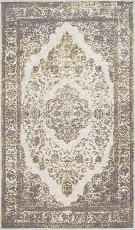 Rugs USA Overdyed CD01 Floral Medallion Border