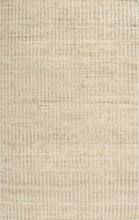 Rugs USA HM01 Textured Jute and Cotton Solid