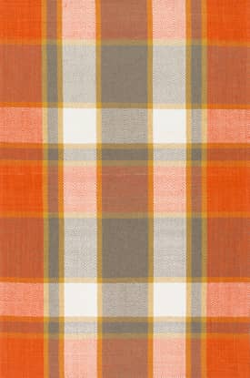 Rugs USA AB01 Flatweave Plaid Madras