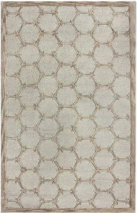 Rugs USA Honeycombs Wool Hand Made