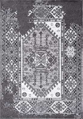 Rugs USA SM10 Maquilla Tarnished Tribal Medallion