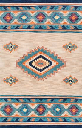 Rugs USA AK02 Surrounded Diamond
