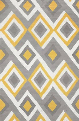 Rugs USA BC62 Interconnected Diamonds