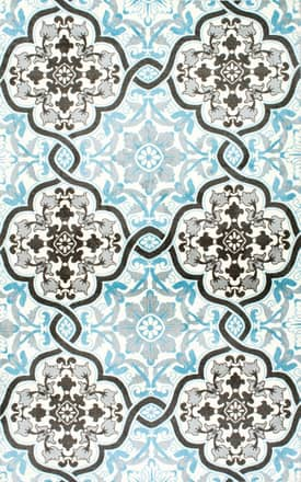 Rugs USA Printed BZ03 Looped Floral