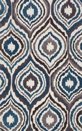 Rugs USA EV24 Sinuous Teardrops