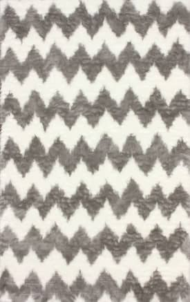 Rugs USA Faux Sheepskin Chevron