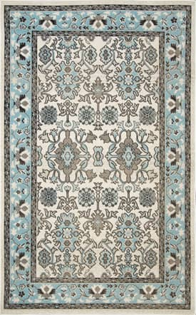 Rugs USA Indoor and Outdoor JR02 Florette Border