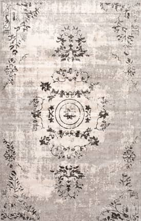Rugs USA VI02 Floral Centerpiece