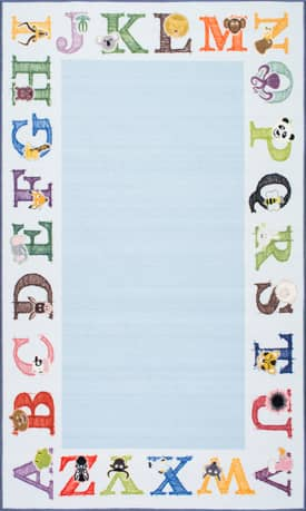 Rugs USA Printed Alphabet RE6