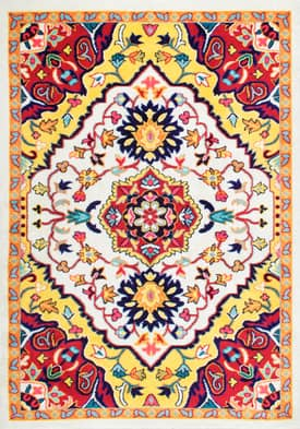 Rugs USA Floral Medallion CR12
