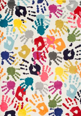 Rugs USA Handprint Collage CR15