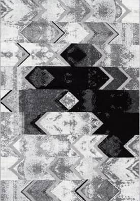 Rugs USA MN02 Abstract Uneven Chevron
