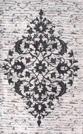Rugs USA BR05 Ornate Floral Centerpiece