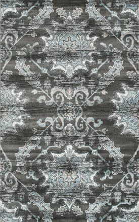 Rugs USA SM04 Distressed Mirrored Florette