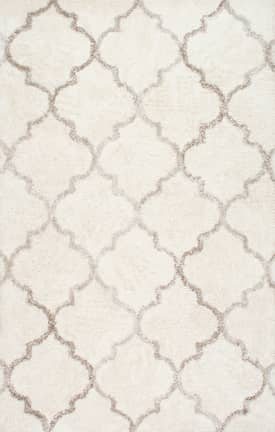 Rugs USA LN01 Hand Tufted Moroccan Trellis Shag