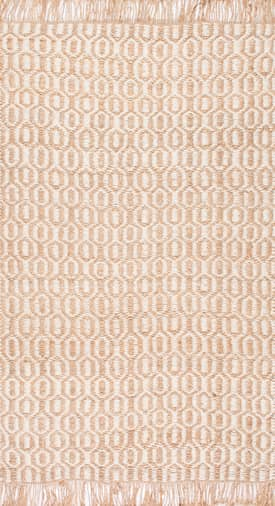 Rugs USA JU01 Flatweave Jute Bird Eye Honeycomb