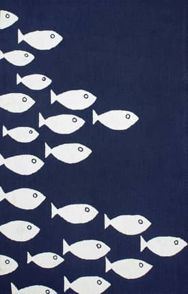Rugs USA Fish Indoor/Outdoor