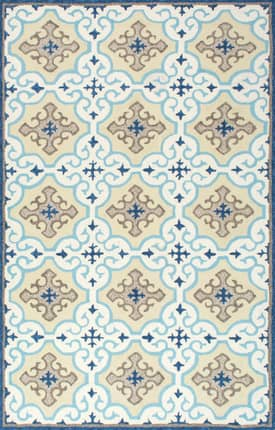 Rugs USA AIR26 Winter Snowflake Indoor/Outdoor
