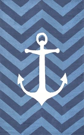 Rugs USA Anchor Chevron Indoor/Outdoor