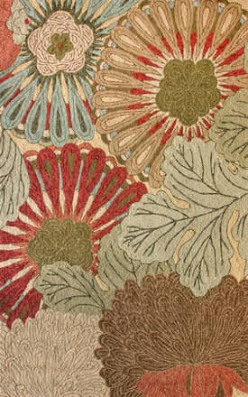 Rugs USA Modern Floral Indoor/Outdoor