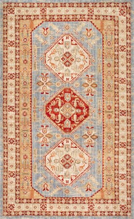 Rugs USA FT01 Three Diamond Medallion Oriental