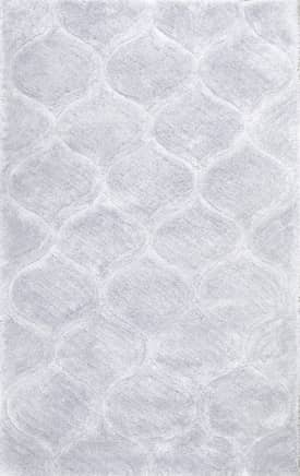 Rugs USA Super Soft Luxury Shag with Carved Trellis ML01