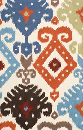 Rugs USA Indoor Outdoor Ikat NO16