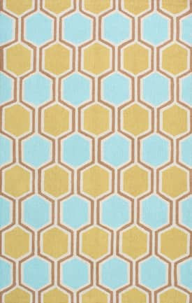 Rugs USA Hexagon UZB57