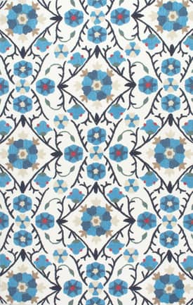 Rugs USA UZB69 Floral Vines