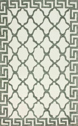 Rugs USA Cotton and Wool Trellis VST27