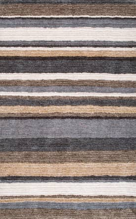 Rugs USA Striped Shaggy