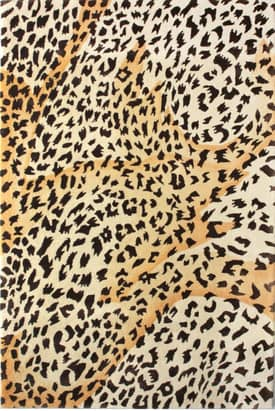 Rugs USA Modern Handmade Jungle Cheetah