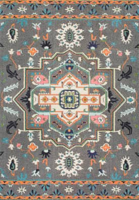 Rugs USA CB21 Tribal Sunny Floral Medallion