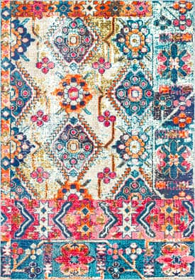 Rugs USA CB29 Ancestral Floral Cascade