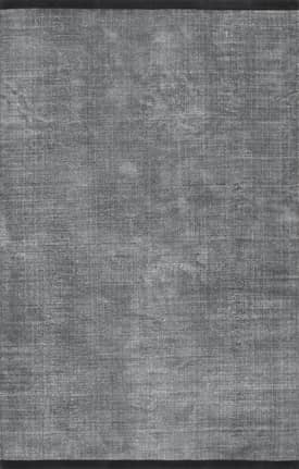 Rugs USA CT01 Solid Cotton Flatweave Leather Border