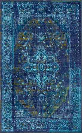 Rugs USA Printed Persian Overdyed Vintage